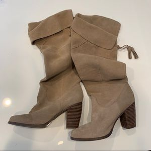 Urban Outfitters Ecote Suede Leather Tassel Boots
